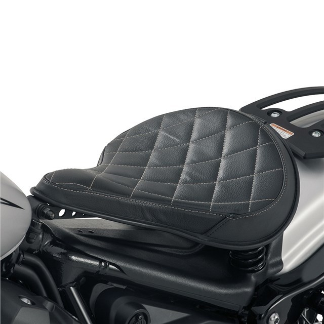 US YAMAHA 北米ヤマハ純正アクセサリー シート本体 SPRINGER BOBBER ソロシート (Springer Bobber Solo Seat) Type:Diamond Stitch/Color:Diamond Stitch