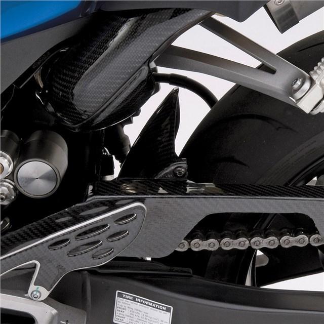 US YAMAHA 北米ヤマハ純正アクセサリー スイングアーム GYTR(R) カーボン ファイバーチェーンガード (GYTR(R) Carbon Fiber Chain Guard) YZF-R1