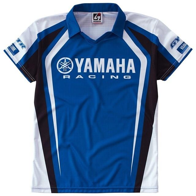 US YAMAHA 北米ヤマハ純正アクセサリー Tシャツ レディース YAMAHA RACING ピットレーンシャツ【Women's Yamaha Racing Pit Lane Shirt】 サイズ:XL