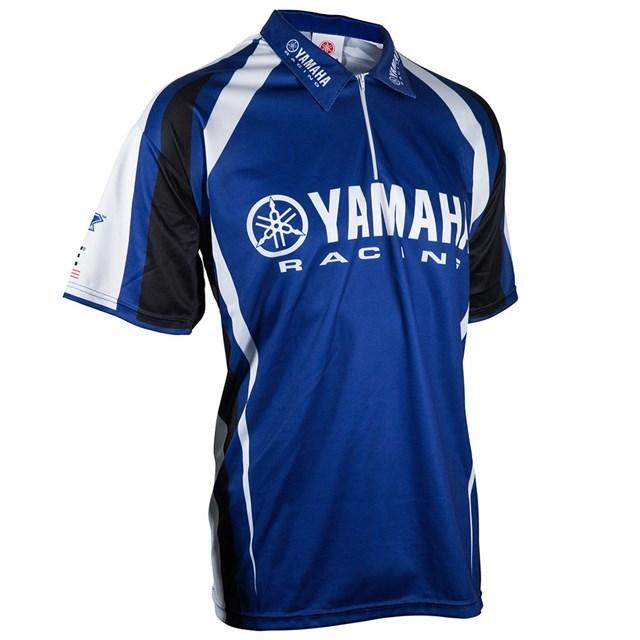US YAMAHA 北米ヤマハ純正アクセサリー Tシャツ メンズ YAMAHA RACING ピットレーンシャツ【Men's Yamaha Racing Pit Lane Shirt】 サイズ:SM