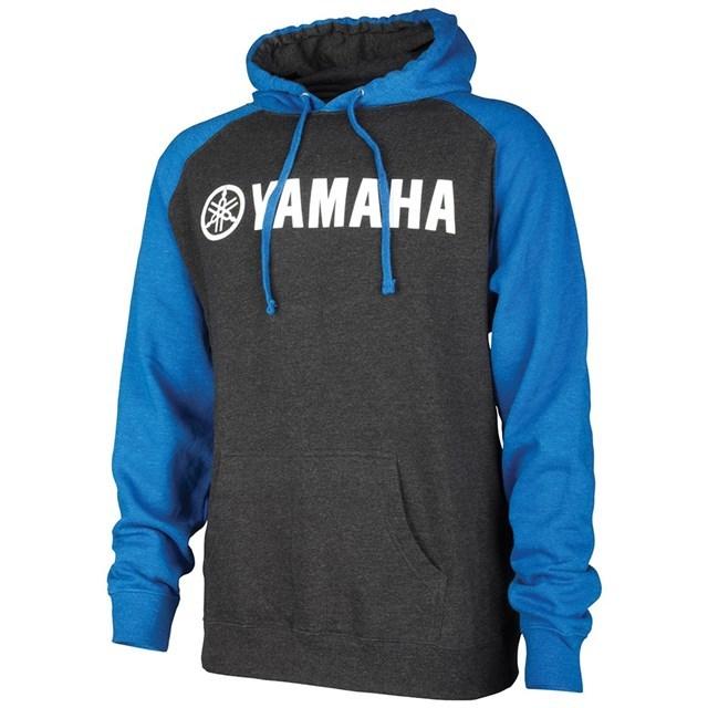 US YAMAHA 北米ヤマハ純正アクセサリー カジュアルウェア YAMAHA ミッドウェイトフードスウェットシャツ【Yamaha Mid-Weight Hooded Sweatshirt】 サイズ:SM