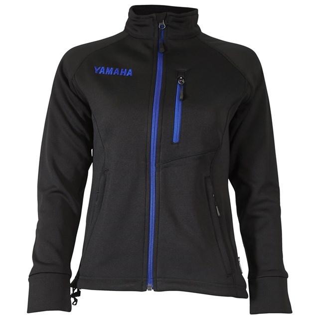 US YAMAHA 北米ヤマハ純正アクセサリー レディース YAMAHA Contrast Mid Layer ジャケット OUTLAST(R) テクスチャ付き【Women's Yamaha Contrast Mid Layer Jacket with Outlast(R)】