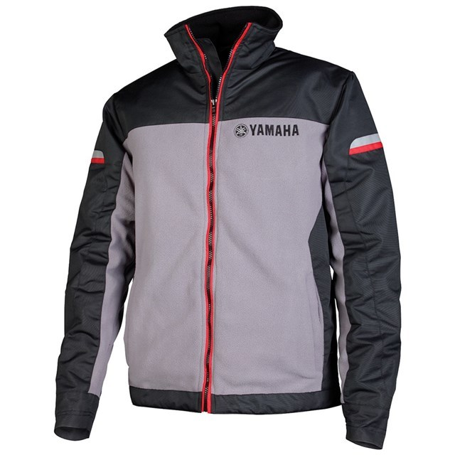 US YAMAHA 北米ヤマハ純正アクセサリー カジュアルウェア YAMAHA フリースジャケット【Yamaha Fleece Jacket】 サイズ:2X