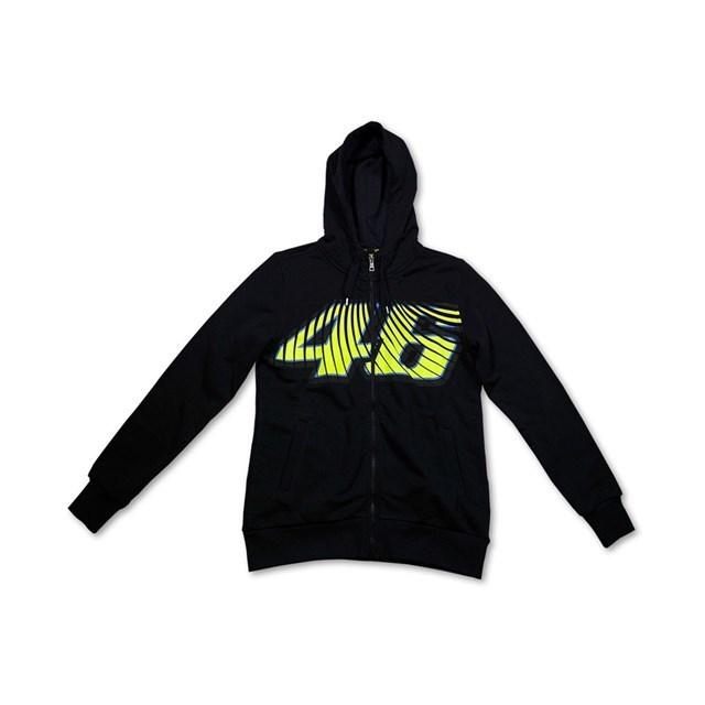 US YAMAHA 北米ヤマハ純正アクセサリー カジュアルウェア レディース VR/46(R) 46 フリースジャケット【Women's 46 Fleece Jacket by VR/46(R)】 サイズ:MD