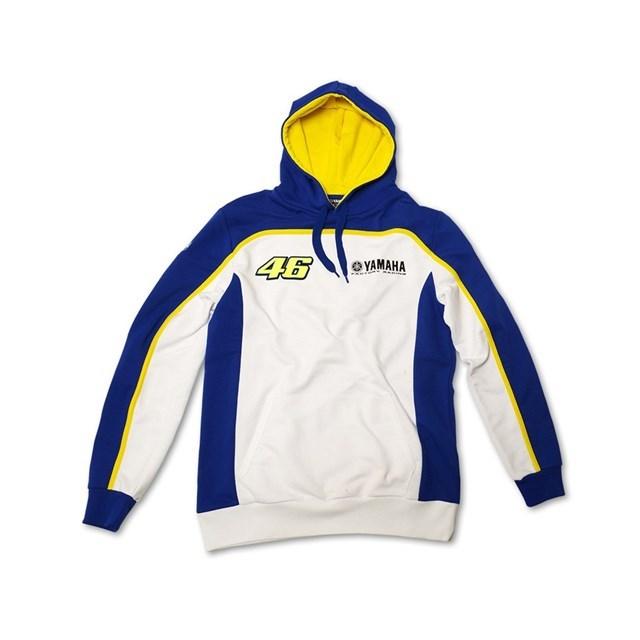 カジュアルウェア VR/46(R) YAMAHA FACTORY RACING 46 フーディースウェットシャツ【Yamaha Factory Racing 46 Hooded Sweatshirt by VR/46(R)】 サイズ:XL