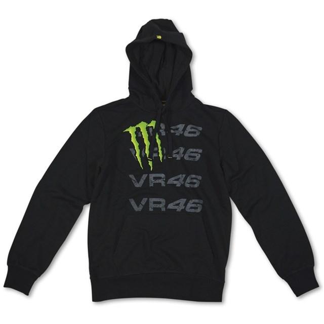 US YAMAHA 北米ヤマハ純正アクセサリー カジュアルウェア MONSTER VR46 フーディースウェットシャツ【Monster VR46 Hooded Sweatshirt by VR/46(R)】 サイズ:XL