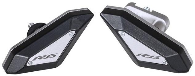 US YAMAHA 北米ヤマハ純正アクセサリー ガード・スライダー スリムデザインフレームスライダー【YZF-R6(R) SLIM DESIGN FRAME SLIDERS】 YZF-R6