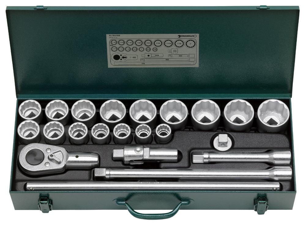 STAHLWILLE スタビレー セット工具 (3/4SQ) ソケットレンチセット (96054103)