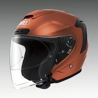 SHOEI ショウエイ ジェットヘルメット J-FORCE IV [ジェイ-フォース フォー タンジェリンオレンジ] ヘルメット サイズ:XXL (63cm)
