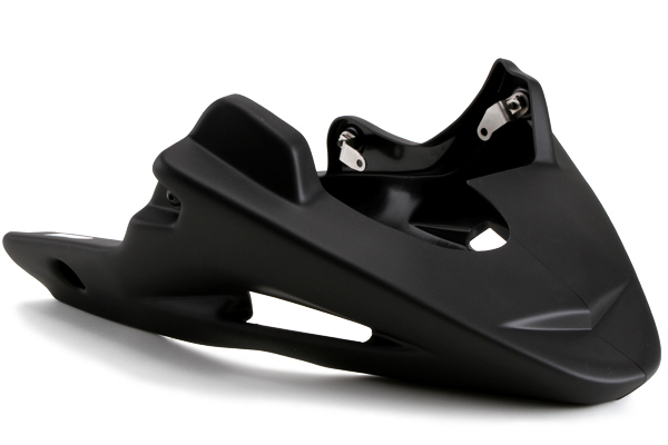 Puig プーチ アンダーカウル エンジンスポイラー カラー:ブラック(つや消し) SV650 99-02、SV650/S 99-08、 / DL650 VSTROME 04-11