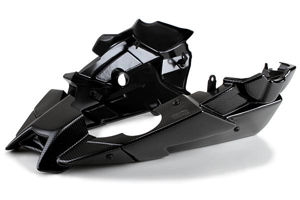 Puig プーチ アンダーカウル エンジンスポイラー カラー:カーボンプリント MT-09 / MT-09TRACER 13-17