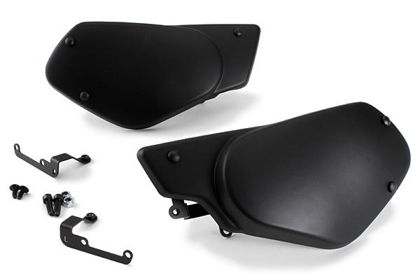 Puig プーチ サイドカバーパネル カラー:マットブラック XSR900