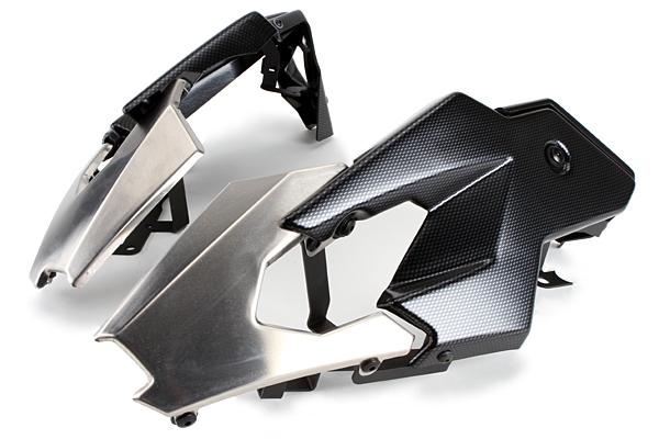Puig プーチ アンダーカウル エンジンスポイラー カラー:カーボンプリント R1200GS