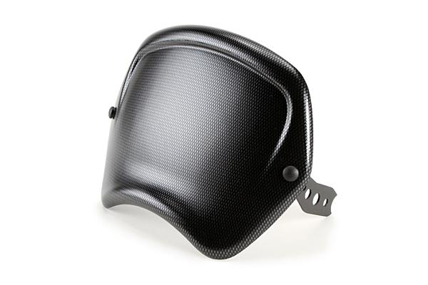 Puig プーチ ビキニカウル・バイザー フロントパネル カラー:カーボンプリント XSR900 16-17