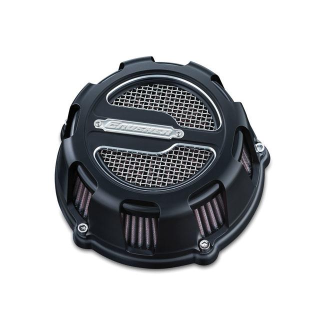 お待たせ! CRUSHER クラッシャー マフラーステー類 MAVERICK エアクリーナー【MAVERICK AIR CLEANER】 カラー:SATIN BLACK 99-17 Twin Cam (excl. e-throttle), Kanaloa 63ecef5d