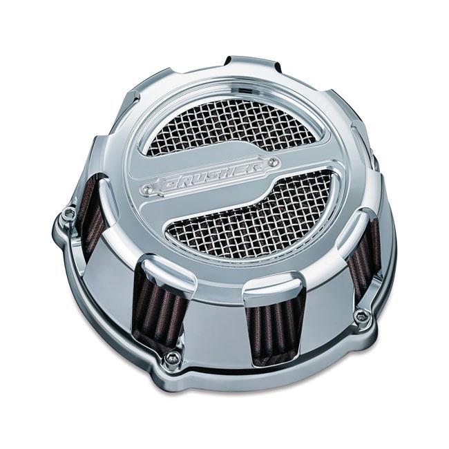 CRUSHER クラッシャー エアクリーナー・エアエレメント MAVERICK AIR CLEANER カラー:CHROME 99-17 Twin Cam (excl. e-throttle)