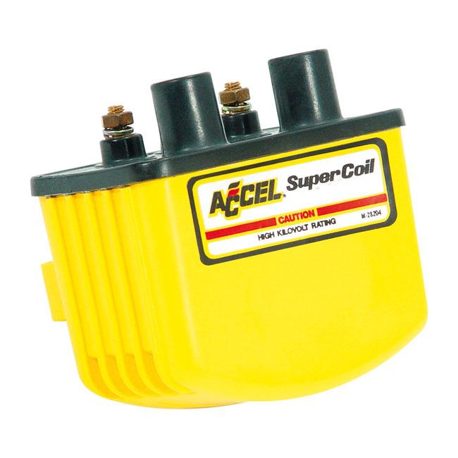 ACCEL アクセル イグニッションコイル・ポイント・イグナイター関連 'SINGLE FIRE SUPER COIL'. 70-99(NU)B.T.(EXCL. TC):71-03 XL(NU)