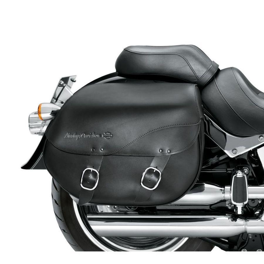 HARLEY-DAVIDSON ハーレーダビッドソン サドルバッグ・サイドバッグ HARLEY DAVIDSON 着脱式 レザー サドルバッグ スムース【H-D Detachables Leather Saddlebags - Smooth】