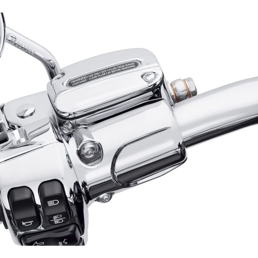 HARLEY-DAVIDSON ハーレーダビッドソン クラッチブラケット/マスターシリンダー リザーバーキット クローム 【Chrome Clutch Bracket and Master Cylinder Reservoir Kit】