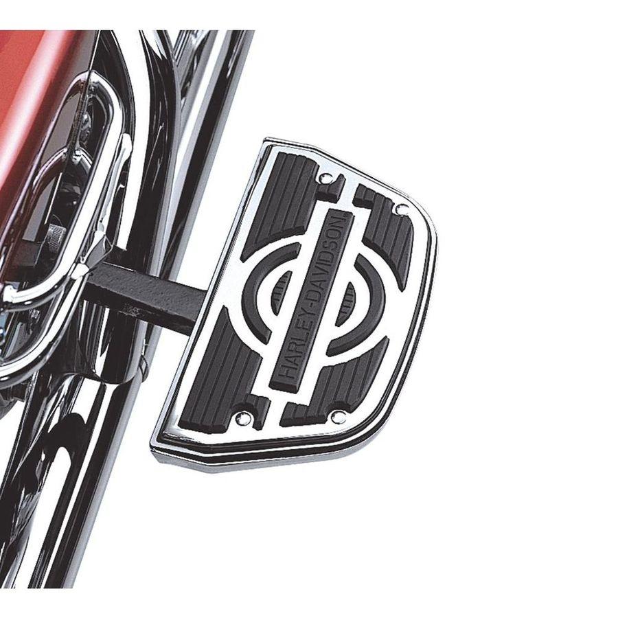 フットペグ・ステップ・フロアボード ノスタルジック タンデムフットボード インソケットキット トラディショナルシェイプ【Nostalgic Passenger Footboard Insert Kit- Traditional Shape】