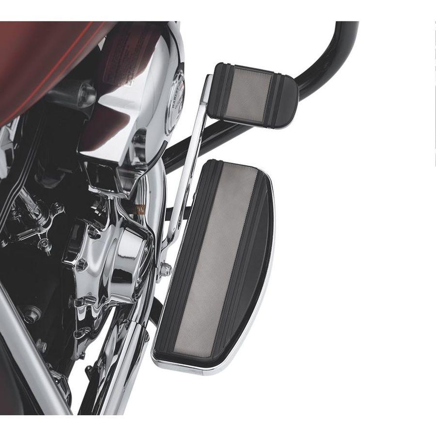 フットペグ・ステップ・フロアボード ライダーフットボードインサートキット トラディショナル形状 ダイヤモンドブラック 【Diamond Black Rider Footboard Insert Kit - Traditional Shape】