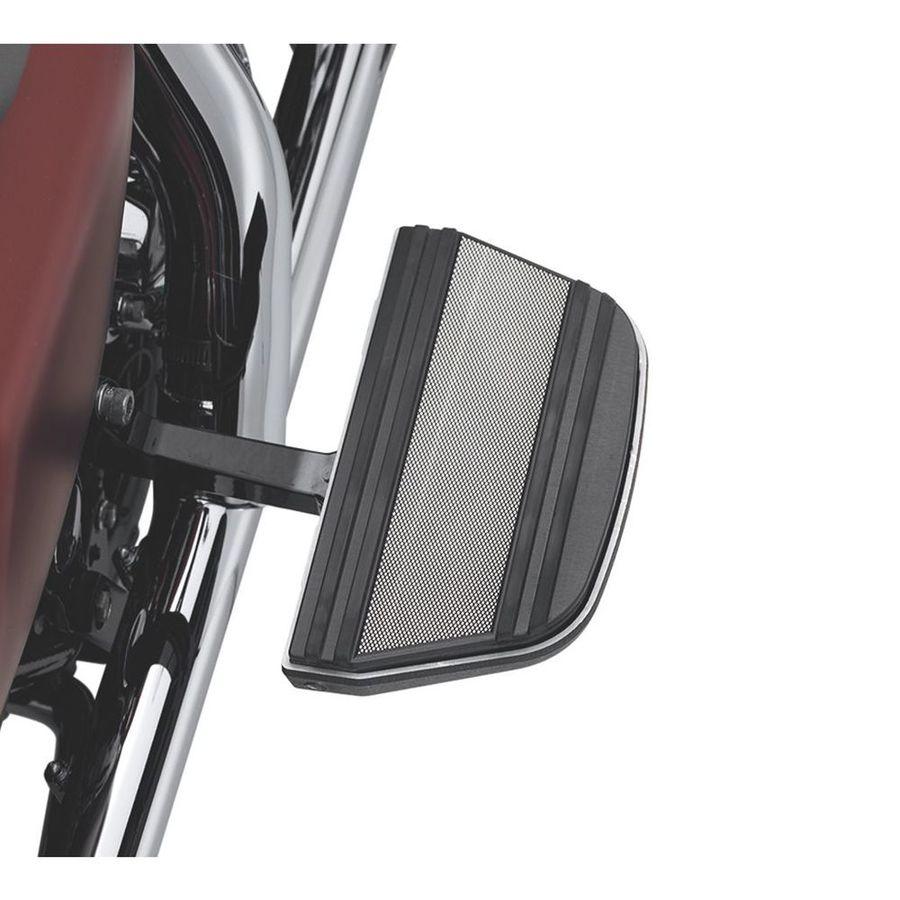 ハーレーダビッドソン タンデム フットボードインサートキット トラディショナル形状 ダイヤモンドブラック 【Diamond Black Passenger Footboard Insert Kit - Traditional Shape】