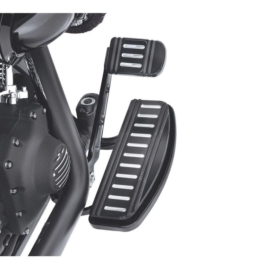 ハーレーダビッドソン フットペグ・ステップ・フロアボード エッジカット ライダーフットボードインサートキット トラディショナル形状【Edge Cut Rider Footboard Insert Kit- Traditional Shape】