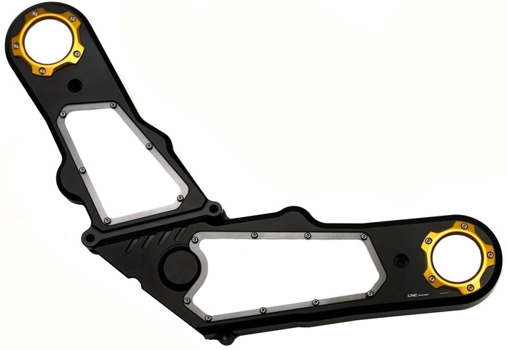 CNC Racing CNCレーシング その他エンジンパーツ Timing belt cover COLOR:Black/Gold