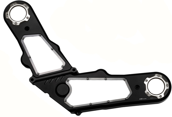 CNC Racing CNCレーシング その他エンジンパーツ Timing belt cover COLOR:Black/Silver