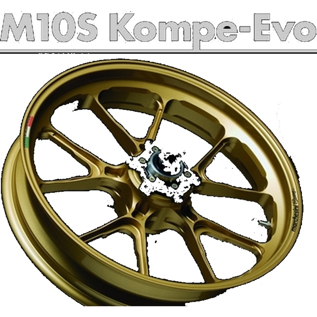 MARCHESINI マルケジーニ アルミニウム鍛造ホイール M10S Kompe Evo [コンペエボ] MT-07