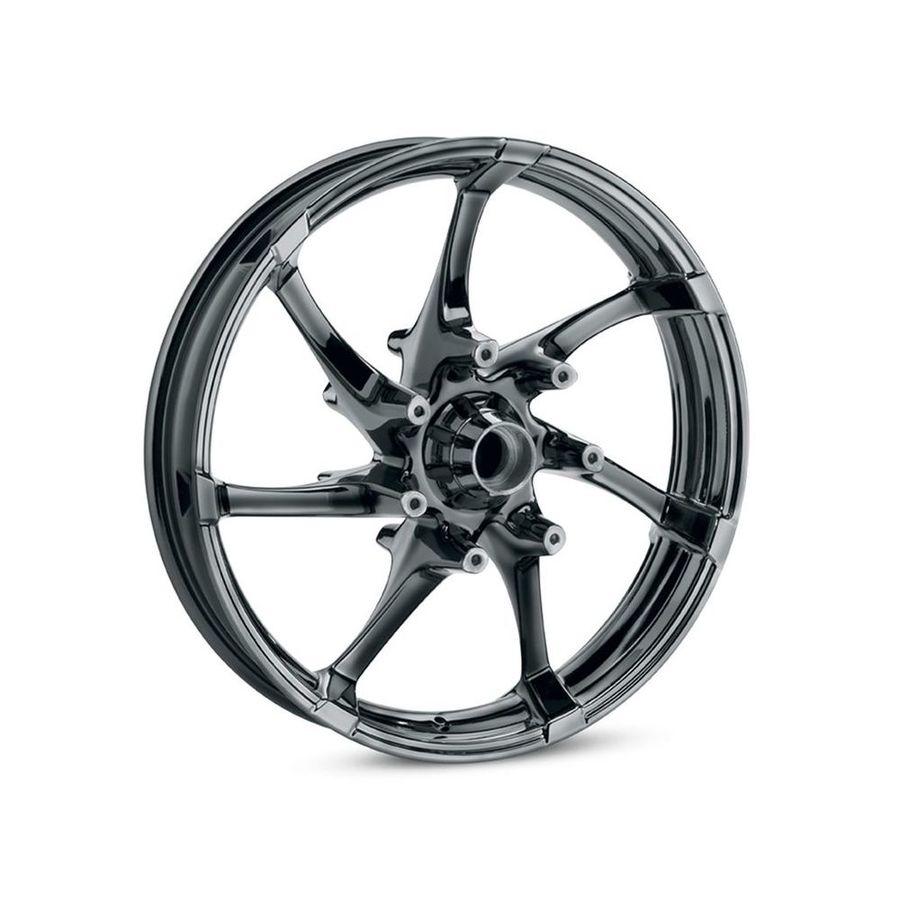 HARLEY-DAVIDSON ハーレーダビッドソン ホイール本体 リアホイール 18インチ アジテーター 【Agitator 18 in. Rear Wheel】 Color:Gloss Black