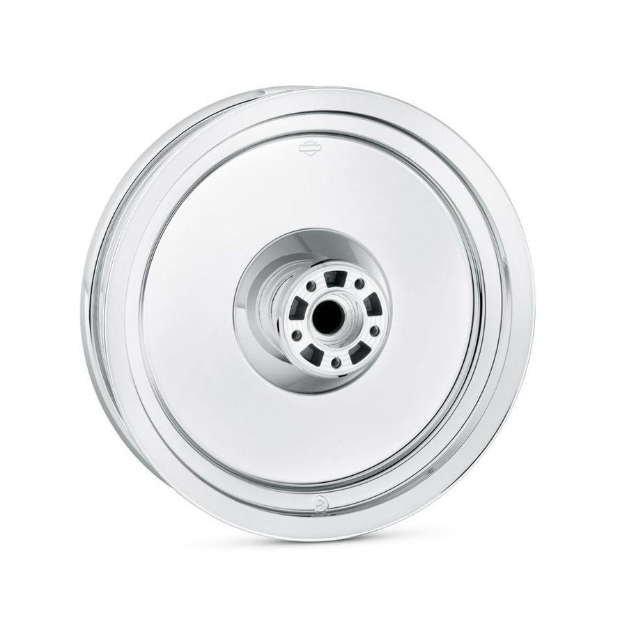 HARLEY-DAVIDSON ハーレーダビッドソン ホイール本体 ソリッドディスクホイール 41265-08 ミラークローム【Mirror Chrome Solid Disc Wheel-41265-08】
