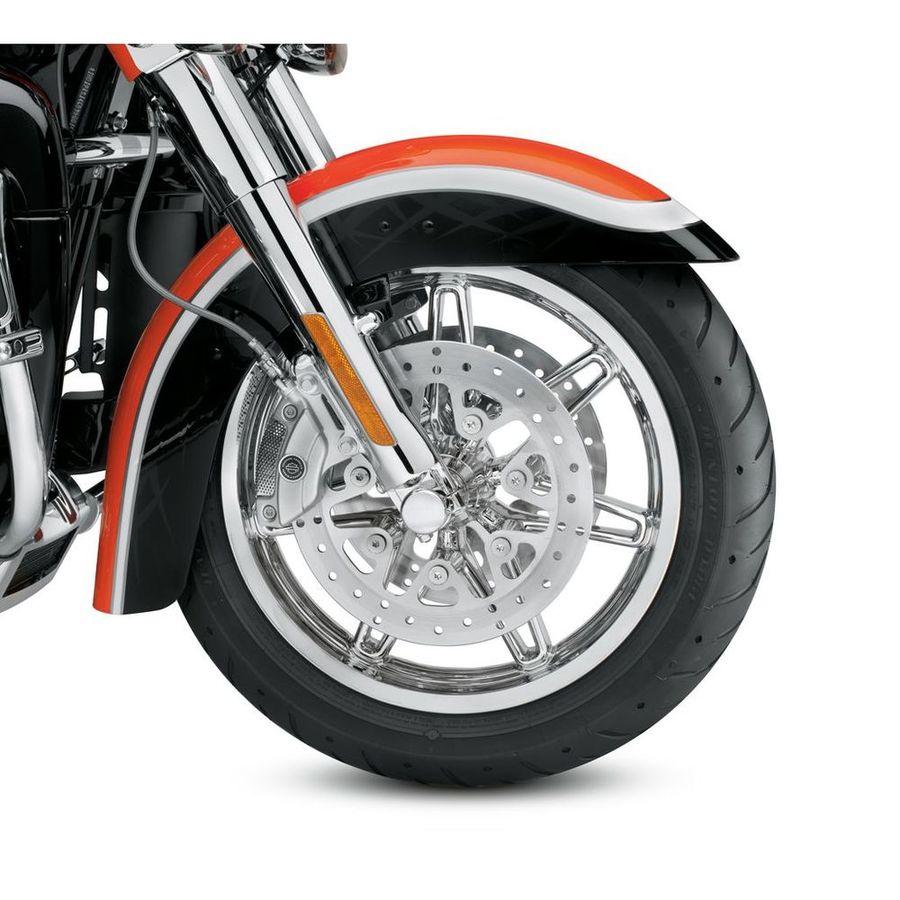 HARLEY-DAVIDSON ハーレーダビッドソン ホイール本体 フロントホイール 17インチ チゼル 【Chisel 17 in. Front Wheel】 Color:Chrome