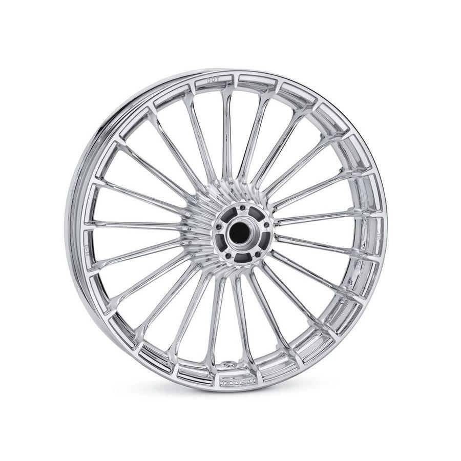 HARLEY-DAVIDSON ハーレーダビッドソン ホイール本体 タービン 19インチ フロントホイール【Turbine 19 in. Front Wheel】 Color:Mirror Chrome