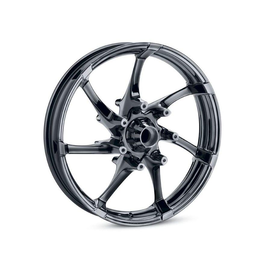 HARLEY-DAVIDSON ハーレーダビッドソン ホイール本体 フロントホイール 19インチ アジテーター 【Agitator 19 in. Front Wheel】 Color:Gloss Black
