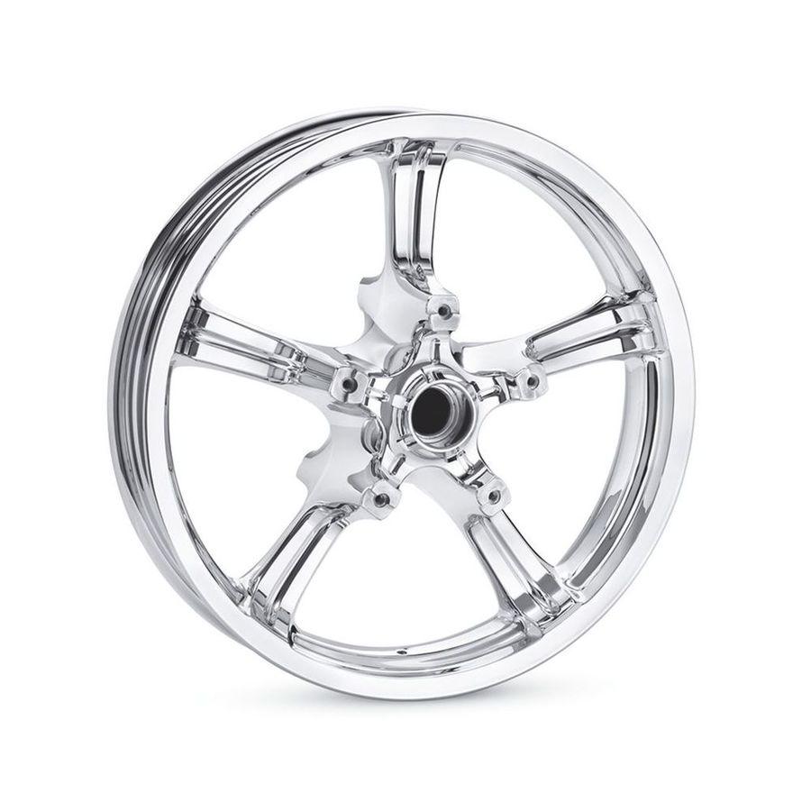 HARLEY-DAVIDSON ハーレーダビッドソン ホイール本体 リアホイール アナーキー 5スポーク 18インチ 【Anarchy 5-Spoke 18 in. Rear Wheel】 Color:Mirror Chrome