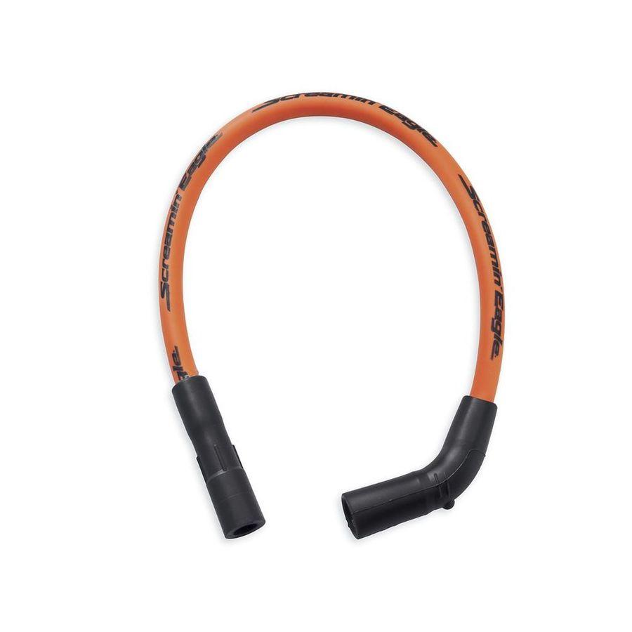 ハーレーダビッドソン プラグコード スクリーミンイーグル10mm ファットスパークプラグワイヤー【Screamin' Eagle 10MM Phat Spark Plug Wires】 Finish/Color:Orange