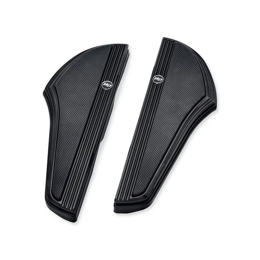ハーレーダビッドソン フットペグ・ステップ・フロアボード DEFIANCE ライダーフットボードキット-ブラックアルマイト 【Defiance Rider Footboard Kit - Black Anodized】