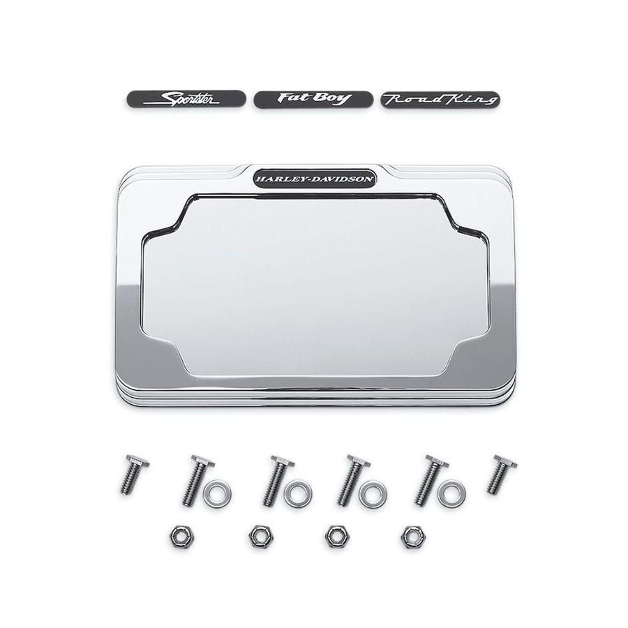 HARLEY-DAVIDSON ハーレーダビッドソン ナンバープレート関連 ビレットナンバープレートフレーム【Billet License Plate Frame】