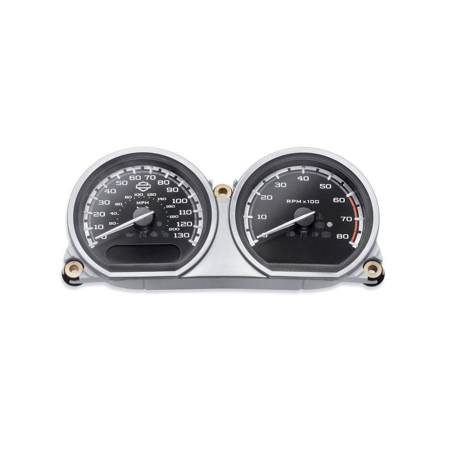 ハーレーダビッドソン その他メーター関連 カスタムフェイスゲージ スピード/タコメータークラスター MPH/km/h【Custom Face Gauges - Speedo / Tach Cluster - MPH/km/h】
