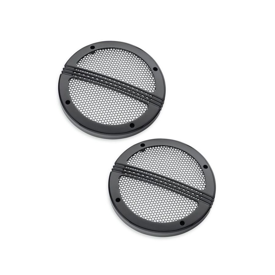 HARLEY-DAVIDSON ハーレーダビッドソン その他外装関連パーツ Defiance Tour-Pak Speaker Grills Finish/Color:Black Anodized