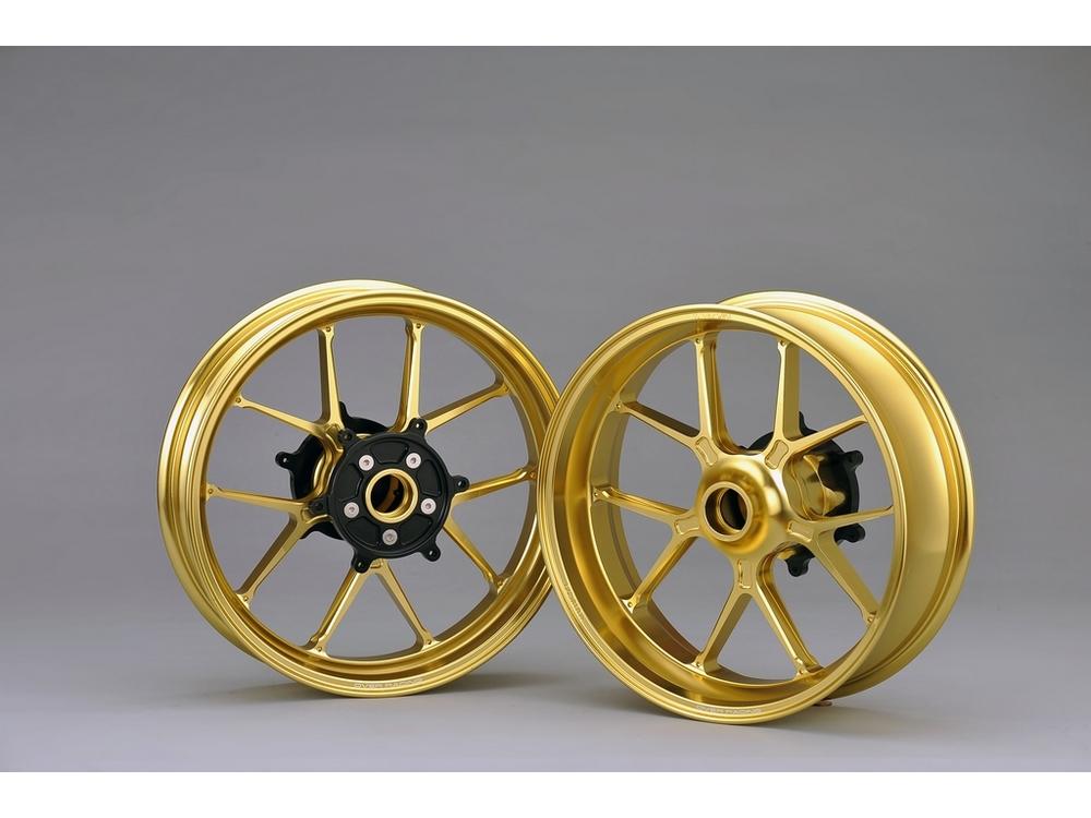 OVER オーヴァー オーバー ホイール本体 アルミ鍛造ホイール GP-TEN カラー:ゴールド TMAX530