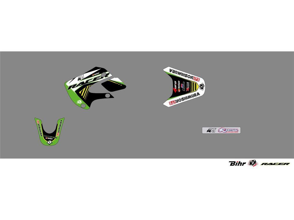 KUTVEK クヴェック ステッカー・デカール Racer Graphic Kit【ヨーロッパ直輸入品】 KX65 (65) 00-18