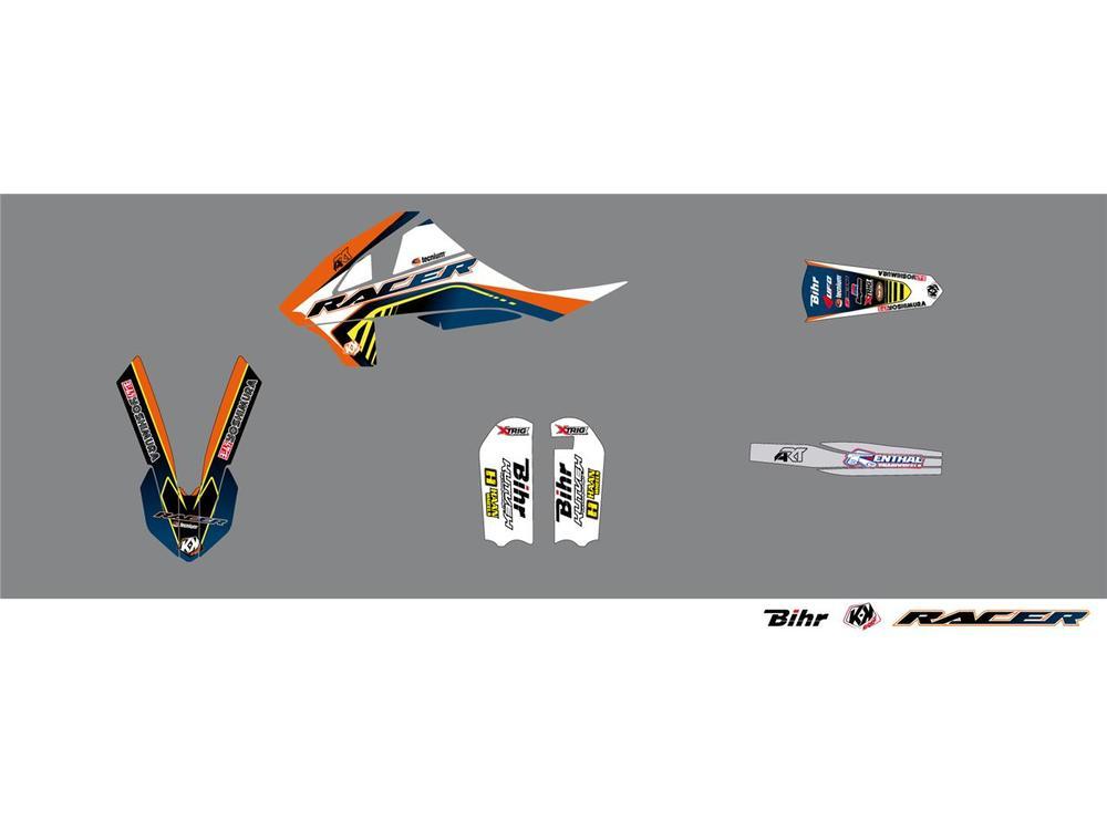 KUTVEK クヴェック ステッカー・デカール Racer Graphic Kit【ヨーロッパ直輸入品】 SX65 (65) 16-17