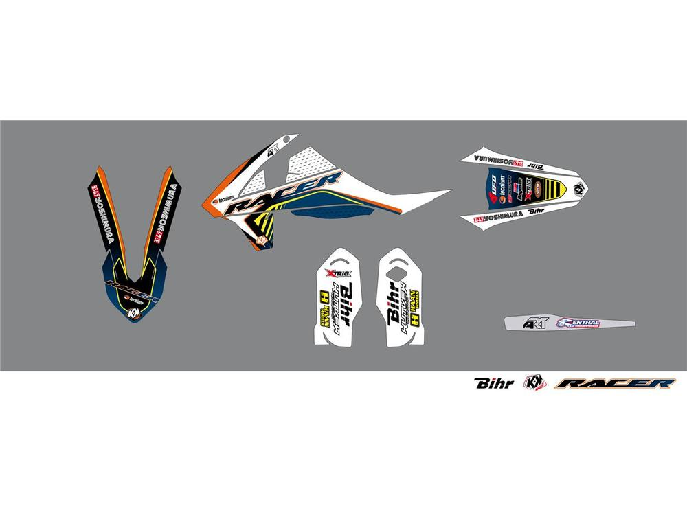 KUTVEK クヴェック ステッカー・デカール Racer Graphic Kit【ヨーロッパ直輸入品】 SX85 17/14 (85) 18 SX85 19/16 (85) 18