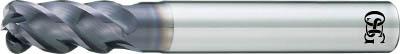TRUSCO トラスコ中山 工業用品 OSG FXコート 4刃 チタン合金加工用不等リードエンドミル UVX‐TI‐