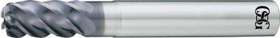 TRUSCO トラスコ中山 工業用品 OSG FXコート 5刃 チタン合金加工用不等リードエンドミル UVX‐TI‐