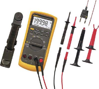 TRUSCO トラスコ中山 工業用品 FLUKE 工業用マルチメーター 87-5/E2工業技術者用コンボ・キット
