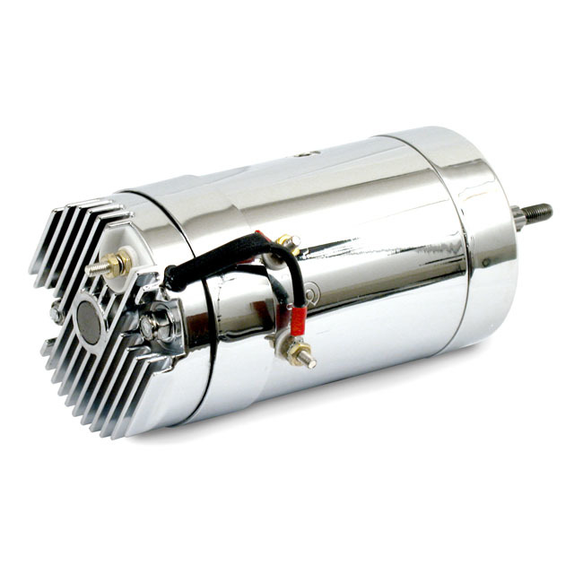 MCS エムシーエス その他電装パーツ GENERATOR WITH BUILD-IN REGULATOR 12V COLOR:CHROME 65-69 B.T.; 65-81 XL(NU)
