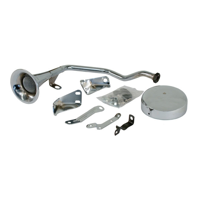 MCS エムシーエス その他電装パーツ OLD STYLE TRUMPET HORN KIT 84-99 SOFTAIL(NU)